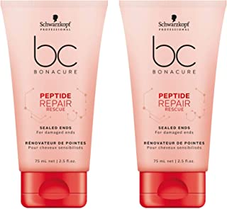 BC Bonacure REPAIR RESCUE Sealed Ends, 2.5-Ounce (2-Pack)