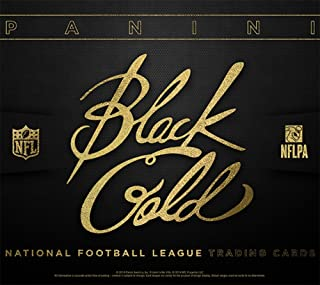 panini black gold football