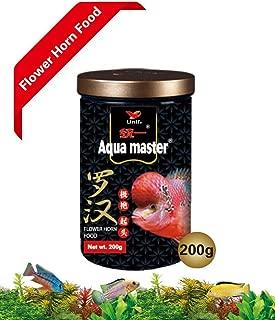 AquaMaster Super Color Enhancer Food for Flower Horn Fish 200g