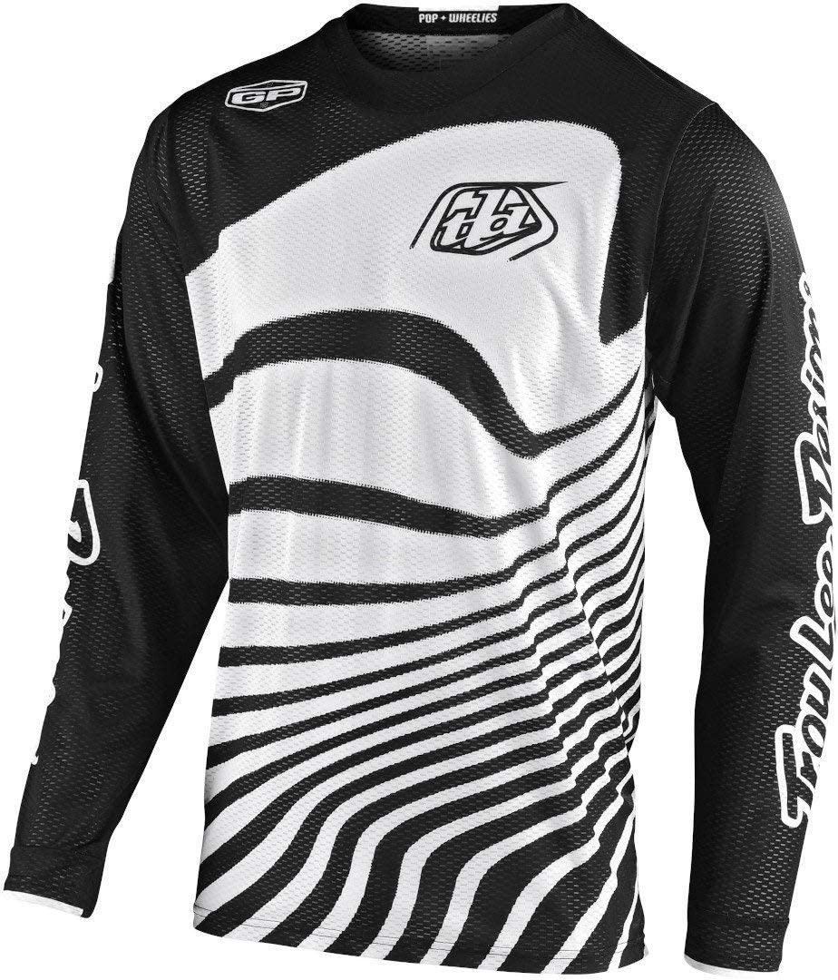 Black//Turquoise Troy Lee Designs 2020 GP Air Jersey Large Drift