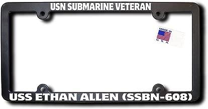 USN Submarine Veteran USS ETHAN ALLEN (SSBN-608) License Frame