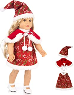 18 inch doll christmas clothes