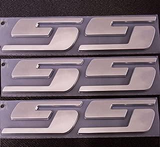Yoaoo 3x OEM Ss Emblems Badge 3D Logo for Silverado Series Chrome