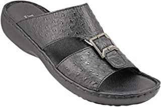 071-1955 Josef Seibel Mens Sandals Struzzo Black 47