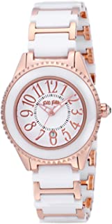 [フォリフォリ] 腕時計 JAPANREQUEST ホワイト文字盤 ステンレス/セラミックケース ステンレス/セラミックベルト デイト WF0B033BDW 並行輸入品 ホワイト