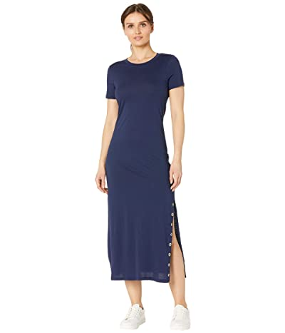 MICHAEL Michael Kors Petite T-Shirt Midi Grommet Dress Women