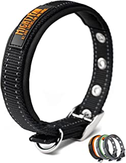 Mighty Paw Sport Collar 2.0   Soft Neoprene Padded Dog Collar Made with High Visibility Reflective Threading and Premium W...