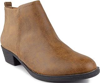 Sugar Women's Trixy Ankle Boot Cognac 8.5