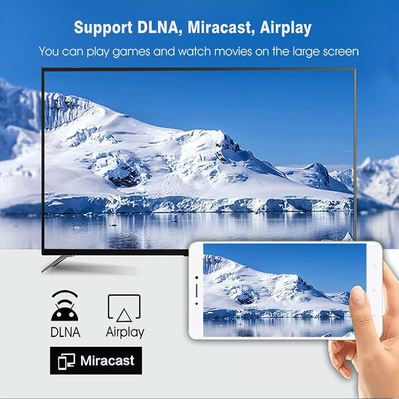 ALLWIN Android TV Box 10.0 H96 Max H616 Smart TV Box, RAM 4GB DDR3 64GB ROM Quad-Core, 4K Ultra HD/H.265 / Dual WiFi 2.4G + 5.8G / HDMI / 100M Ethernet/Bluetooth 4.2 Streaming Media Player
