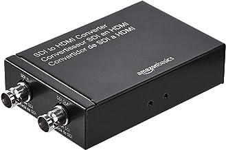 Amazon Basics SDI to HDMI Converter (720p/1080p) with USB-A Power Supply