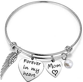 Memorial Bracelet Forever in My Heart Bracelet Sympathy Gift for in Memory of Loved One