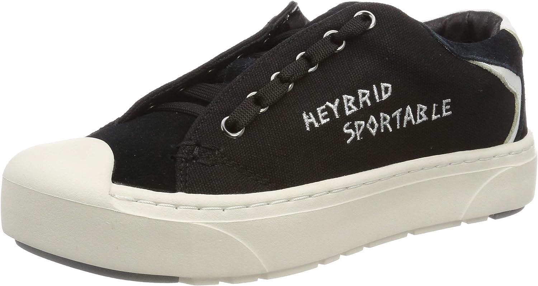 Heybrid Women's Sneaker Mit Stickerei Low-Top