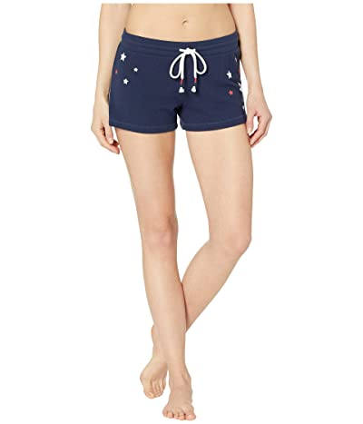 P.J. Salvage USA Star Shorts (Navy) Women