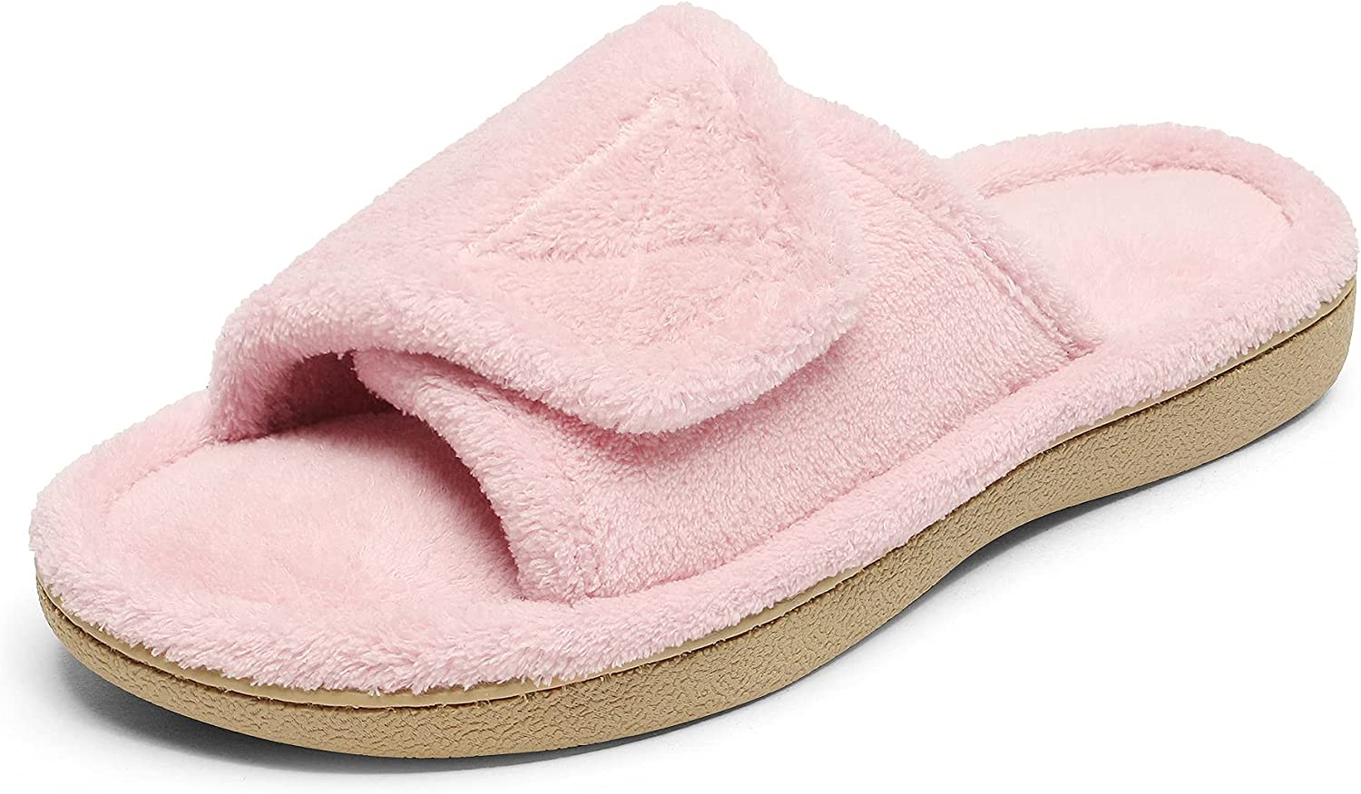 DREAM OFFicial store PAIRS Women's House Memory Slippers wi Fuzzy Form Directly managed store Orthotic
