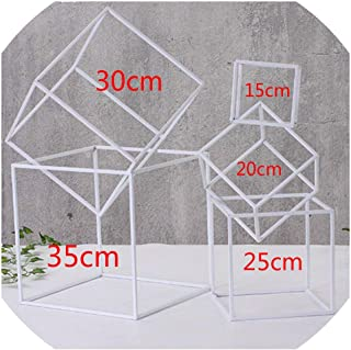 Cherryi 5pcs/Set Bridal Arch Frame Background Decoration Cherry Blossom Arch Flower Stand Door Wedding Party Decoration Props,5pcs White