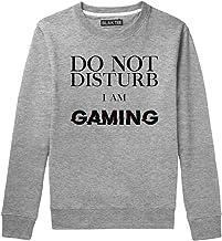 BLAK TEE Hombre Do Not Distrubt I Am Gaming Glitch Gamer Quote Camisa De Entrenamiento