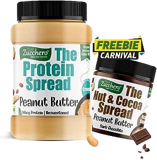 Zucchero Protein Peanut Butter, Unsweetend, Whey Protein, 1 Kg