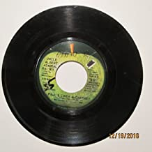 Paul & Linda McCartney 45 RPM UNCLE ALBERT ADMIRAL HALSEY / TOO MANY PEOPLE