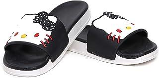 DES TONGS Women's/Girls Kitty Flip Flop/Slippers