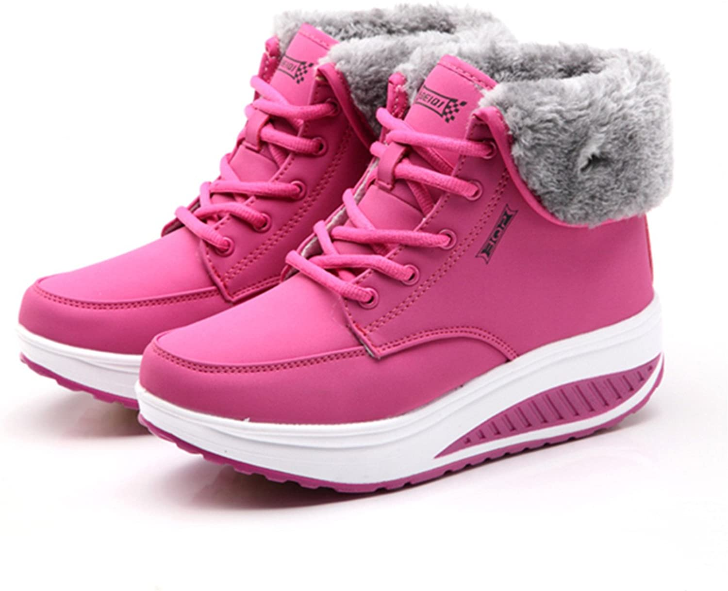 Better Annie Winter Female Plus Velvet Swing shoes Snow Platform Boots Women Thermal Cotton-Padded shoes Flat Ankle Boots