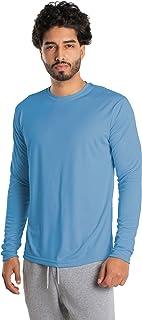 Vapor Apparel Men's UPF 50+ UV Sun Protection Outdoor Quick Dry Long Sleeve T-Shirt