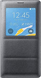 Samsung Galaxy Note 4 Case, S-View Flip Cover Folio Case - Black (Discontinued by Manufacturer)