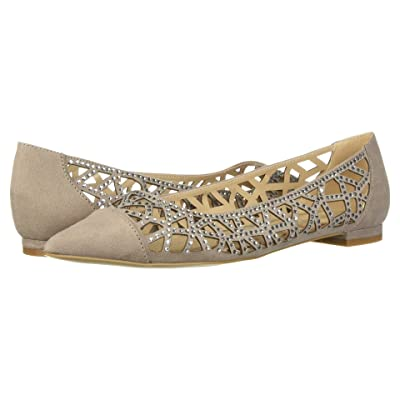 Athena Alexander Andover Flat (Taupe Suede) Women