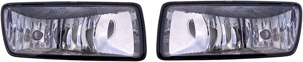 Aftermarket Replacement Left Right Sides Pair Fog Lights for Ford 2006-2010 Explorer and 2007-2010 Explorer Sport Trac