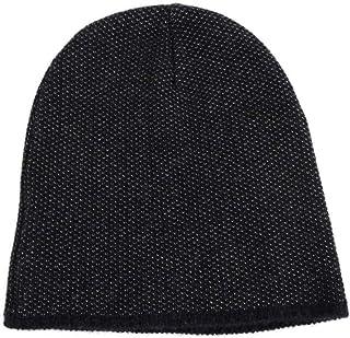 bd958d74237397 Gucci Unisex Dark Blue Wool Cashmere Cotton Beanie Hat with Logo 352350 4079