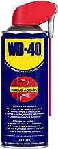 WD-40 Producto Multi-Uso Doble Acción - Spray 400ml - Aplicación amplia o precisa. Lubrica, Afloja, Protege del óxido, Die...