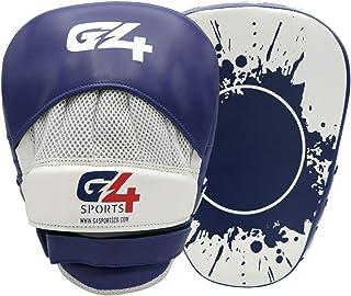 G4 فيجون قفازات التركيز المنحنية هوك ووسادات جاب، وسادات من الجلد الصناعي للتدريب في الملاكمة MMA Kickboxing فنون الدفاع ع...