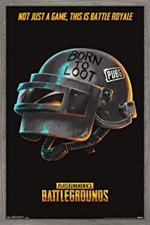Trends International PLAYERUNKNOWN's Battlegrounds (PUBG) - Born Wall Poster, 14.725