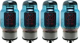 JJ KT88 Blue Glass Vacuum Tube, Apex Matched Quad
