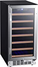 EdgeStar CWR302SZ 15 Inch Wide 30 Bottle Built-In Wine Cooler