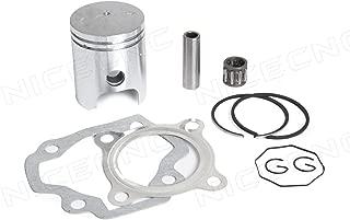 NICECNC Piston Ring Kit Gasket Wrist Pin Bearing Set for YAMAHA PW50 1979-2009