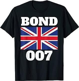 Bond Union Flag 007 Retro Shirt
