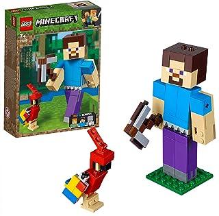 LEGO Minecraft - BigFig Minecraft: Steve con Loro