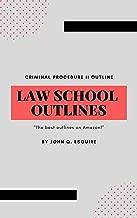 Law School Outlines: Criminal Procedure Outline (Adjudication)