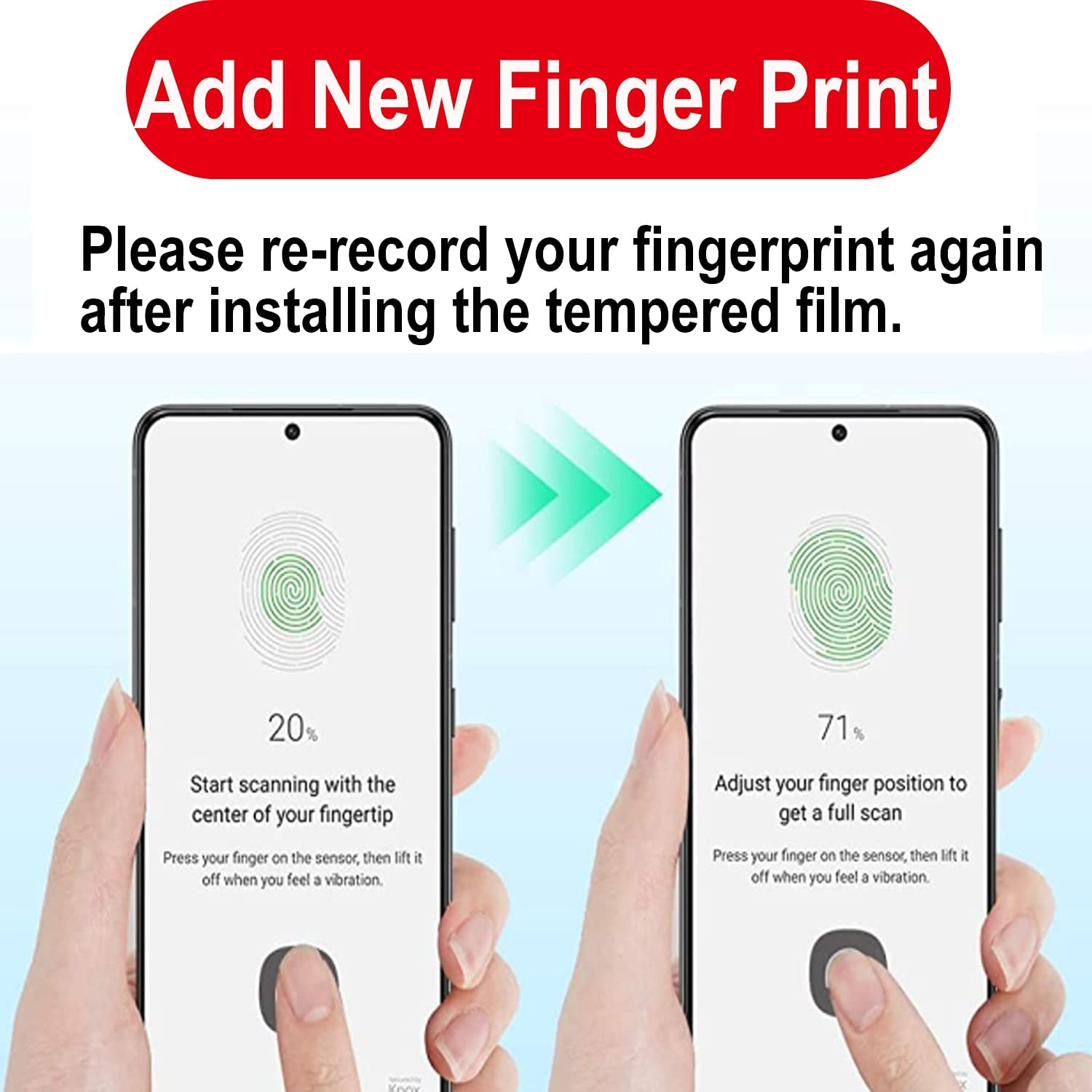 """[4 Pack] 2 Pack Tempered Glass Screen Protector for Samsung Galaxy S21 Plus (6.7"""")+2 Pack Camera Lens Protector for Galaxy S21 Plus S21+, Fingerprint Support Compatible Bubble Free Case Friendly"""