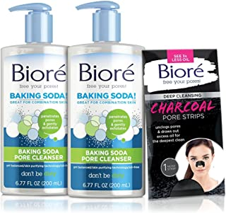 biore face wash baking soda