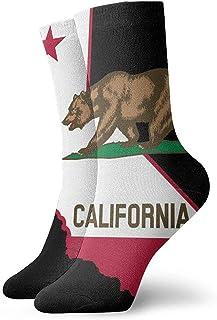 Hombres Mujeres Personalidad Calcetines y calcetines bonitos de California Calcetines deportivos creativos deportivos