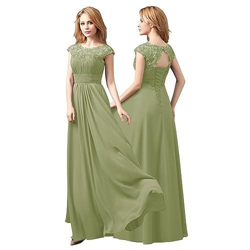 f6c09f7e0516 Sage Green Bridesmaid Dresses: Amazon.co.uk