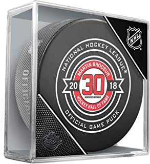 Martin Brodeur New Jersey Devils Unsigned November 13, 2018 Hall Of Fame Night Official Game Puck - Fanatics Authentic Certified