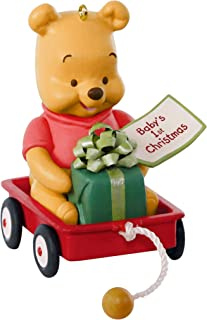 Hallmark Keepsake Ornament 2019 Year Dated Disney Winnie The Pooh Baby's First Christmas