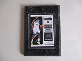 ANDREW WIGGINS MINNEAPOLIS TIMBERWOLVES PANINI CONTENDERS NBA 2018 (WHITE JERSEY) PLAYER CARD MOUNTED ON A 4
