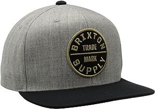 قبعة اوث لي الرجالية من بريكستون مقاس متوسط قابلة للتعديل مع كبسولة للاغلاق من الخلف.