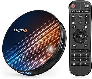 comprar comparacion Android 9.0 TV Box 【4G+64G】 RK3318 Quad-Core 64bit Android TV Box, Wi-Fi Dual 5G/2.4G, BT 4.0, 4K*2K UHD H.265, USB 3.0 Sm...