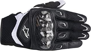 ALPINESTARS Glove 4W Smx - 2 Ac Black / White Xs X-Small