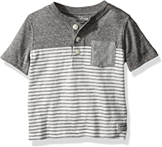 OshKosh B'Gosh Boys' Pocket Henley Tees