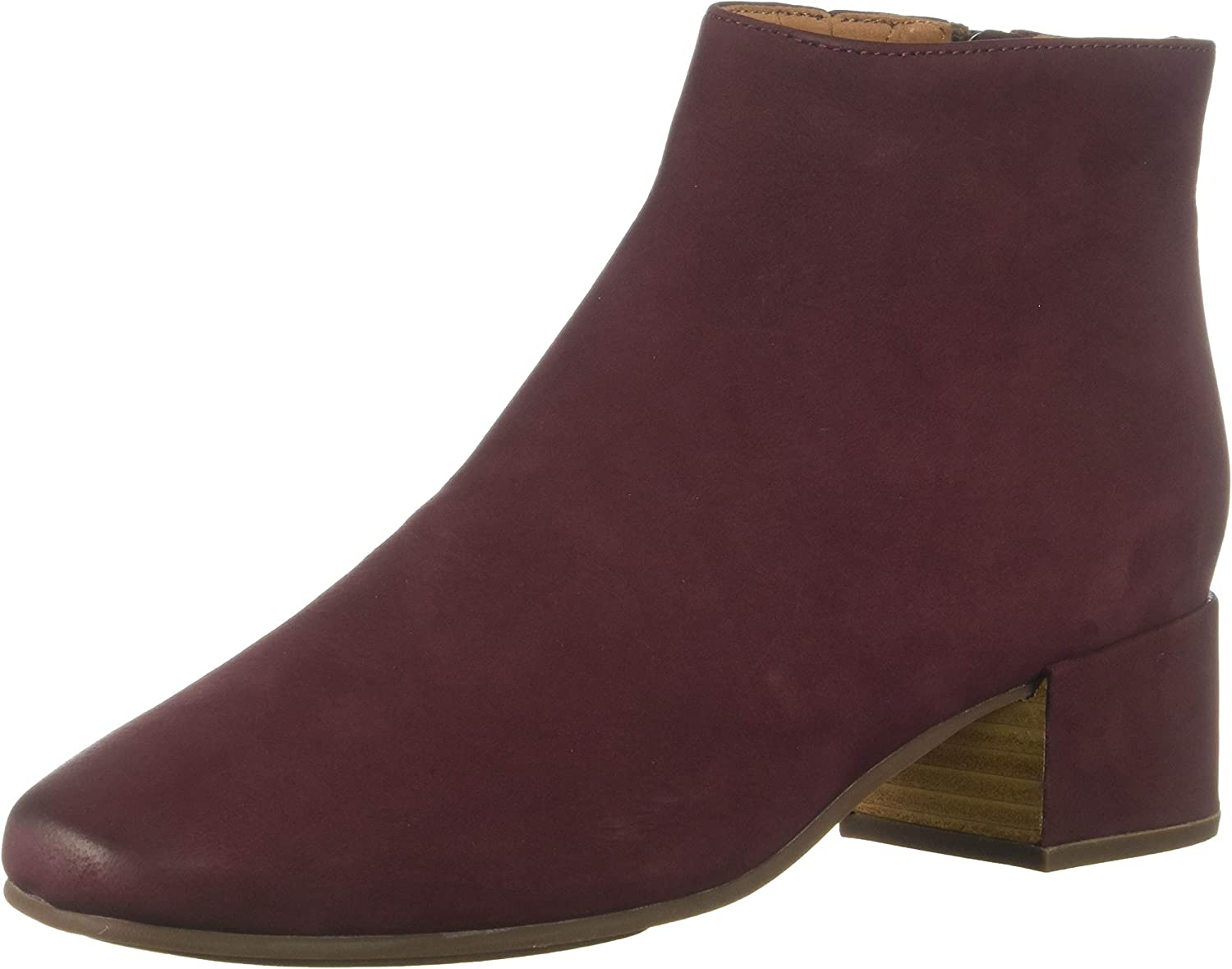 Gentle Souls Womens Ella Low Heel Bootie Ankle Boot